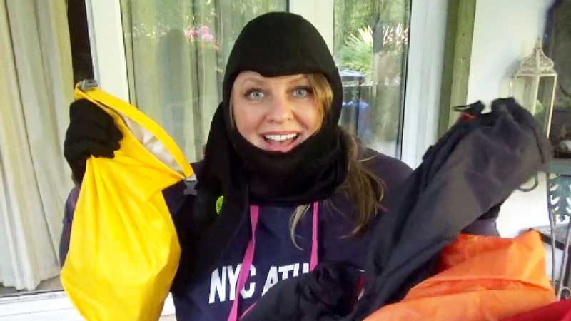 Cookie Taylor list of expedition kit