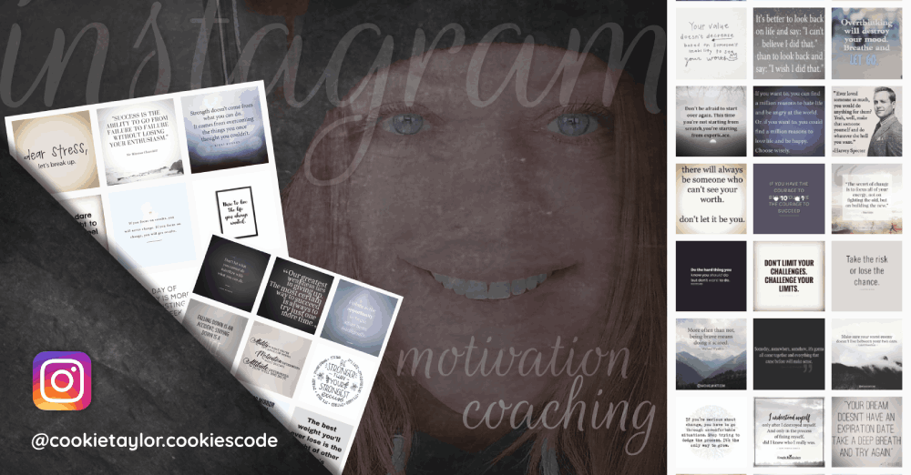 Cookie Taylor Life Coaching Cookies Code Instagram Account